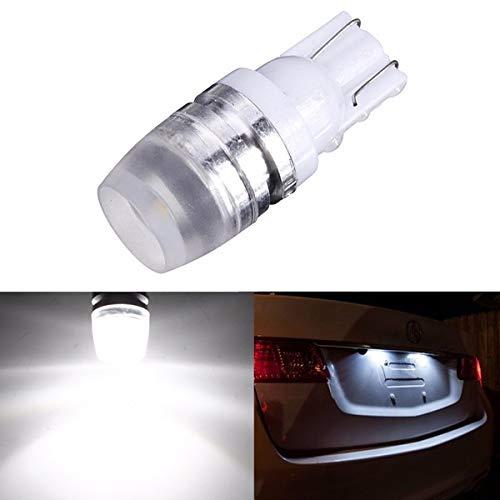 T10 Licht Birne (Auto-Keil-Seitenmarkierungs-Licht-Birnen der Kungfu Mall-T10 LED hohe Leistung 1W 50LM 40mA DC12V weiß)
