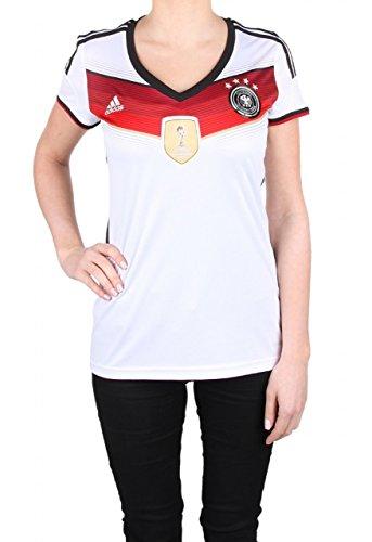 adidas DFB Home Trikot 4 Sterne Damen Heimtrikot Weltmeister (weiß, XXS) (Fußball-trikot Damen)
