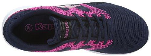Kappa Unisex-Erwachsene Ferret Low-Top Blau (6722 navy/pink)