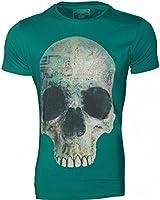 JACK & JONES - SKULL Herren T-Shirt Oberteil Slim Fit 1956 - NEU