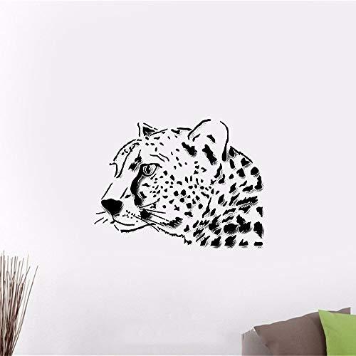 zimmer Leopard Animal Predator Tribal-Stil ()