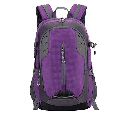 TUOZA Im Freien Wasserdichte Freizeitsport Bergsteigen Tasche Purple