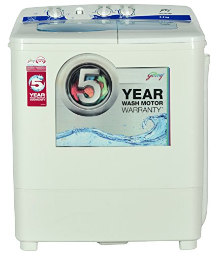 Godrej 6.2 kg Semi-Automatic Top Loading Washing Machine (GWS 6203...