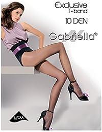 Gabriella T-Band 10 DEN Exclusive Fenistrumpfhose