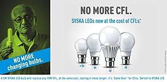 Set of 4 SYSKA LEDs by SSK Group 15W LED Bulb