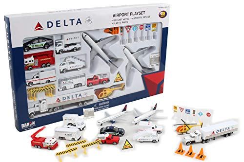 Daron Worldwide Trading RT4992 Delta 30 Lecture A-roport Pc Set