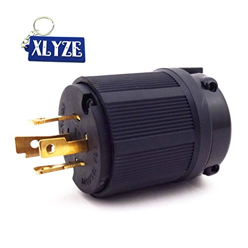 xlyze 20A L14–20P 4-Generator Benzin Gas des Zahn, schließen der Annahme des Steckdose 125/250V UL