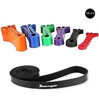 [Resistance Band] BESTOPE®  Premium Latex Pull Up Fitnessbänder Widerstand-Bänder Trainingsbänder Strap Training Loop CrossFit-band für Stärke Gewichtstraining und Yoga