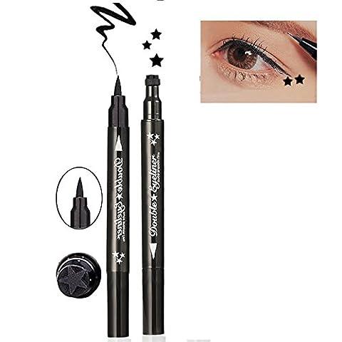 Oshide Black Liquid Eyeliner Waterproof Eye Liner Pencil Pen Waterproof Anti-sweat No Blooming