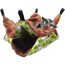 Oncpcare - Hamaca para Mascotas, Hamaca para azúcar con litera, Accesorios para Jaula de
