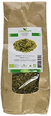Green Farm Feuilles séchées de Maté Bio pour infusion 250 g