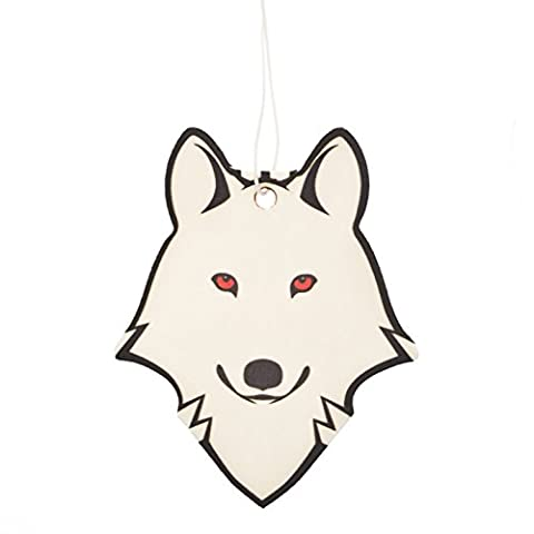 Dire Wolf - Ghost - Air Freshener Inspired by The Game of Thrones (Pack of 1)
