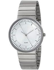 Alessi AL8000 - Reloj para hombre, correa de acero inoxidable color plateado