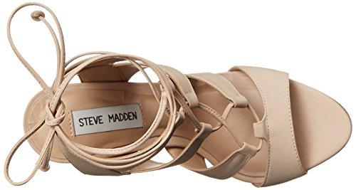 Sandale Steve Madden Sandalia nubuck rose poudre avec des lacets Blush Nubuck