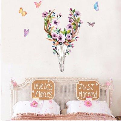 RUIPENGPENG Wandbild Zitat Aufkleber Aufkleber wasserdicht Abnehmbare für Wohnzimmer TV Hintergrund Kinder Baby Nursery Halloween Geek Art Deco 43 × 76.5 cm
