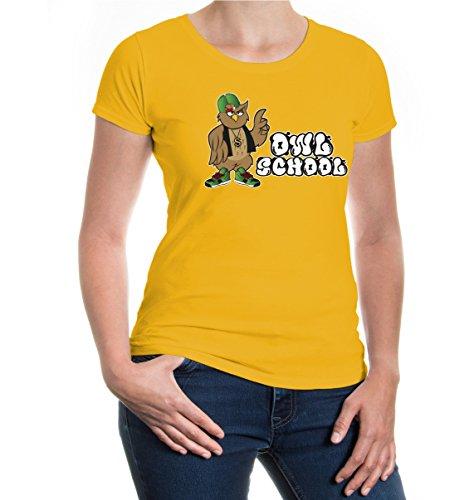 buXsbaum® Girlie T-shirt Owl School Sunflower-z-direct