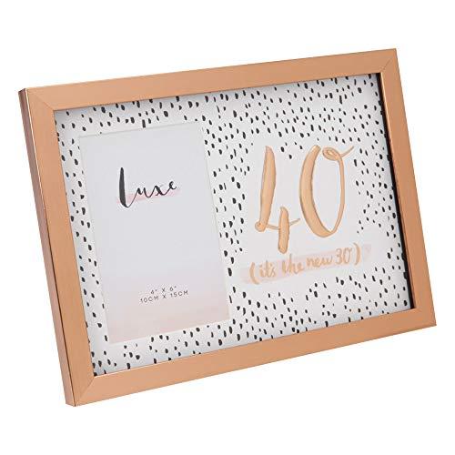 LUXE - Marco de Fotos para 40 cumpleaños