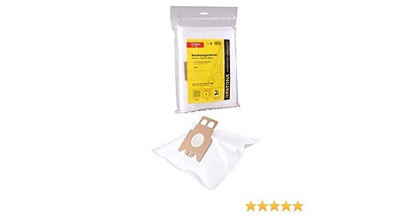 Staubbeutel 2 Filter 10 Staubsaugerbeutel für Miele S 8340 EcoLine