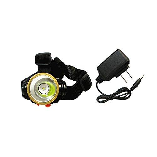 MagiDeal Lampe Frontale LED Phare Ultra-Lumineuse Réglable Léger pour Ingénierie Mine Pêche Exploitation