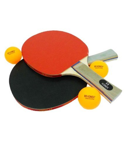 Table Tennis Rackets 2 Racket + 3 Ball Set