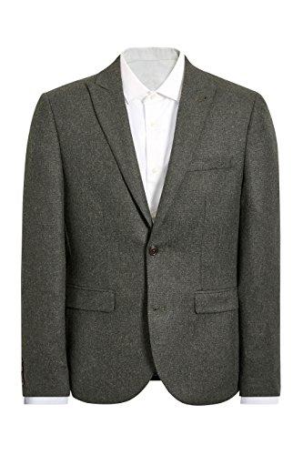 next Homme Veste de costume en laine Donegal Olive