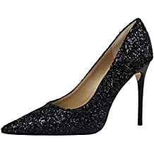 a9b5b06111a64 Life Women Scarpe Tacco Alto Donna Classico High Heels Alto Lavoro Festa Elegante  Scarpe de Moda décolleté