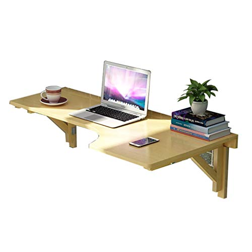Computertische Wandklapptisch klapptisch Computer Schreibtisch Klapptisch Schlafzimmer Wandbehang Tisch Kinderzimmer L-förmigen Schreibtisch Tisch Studie Tisch (Color : BeigeB, Size : 80 * 60CM) - L-förmigen Schreibtisch Möbel
