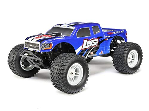 LOSI TENACITY 4WD MONSTER TRUCK 1:10 RTR BLAU MIT AVC TECHNOLOGIE