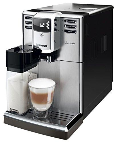 Saeco Incanto hd8917/09Espresso Machine 1.8L schwarz, Edelstahl–Kaffeezubereiter...