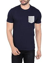 LUCfashion Men's Exclusive Premium Fashionable Stylish Round Neck Half Sleeve Printed Cotton T-Shirt