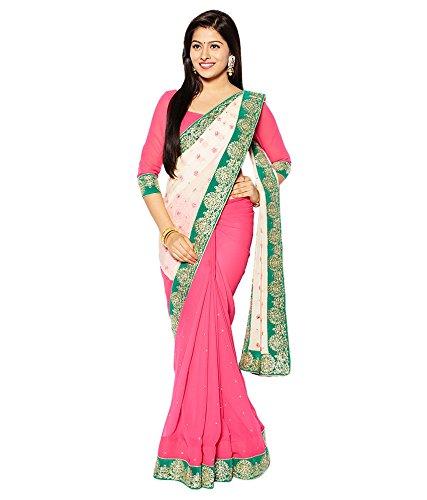 VINTAGE Girls cotton saree(VINTAGE O10_multi colour_Freesize)