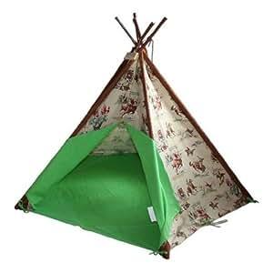 Image Unavailable  sc 1 st  Amazon UK & Wigwam Teepee Play Tent -Canvas - Cowboys u0026 Indians: Amazon.co.uk ...