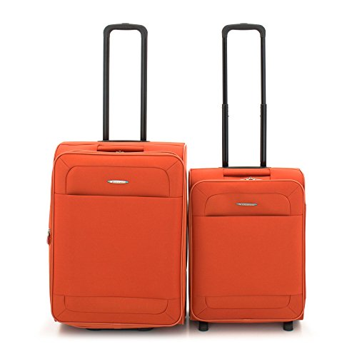 Roncato Trolley Koffer-Set, 70 liters, Orange (Arancio)