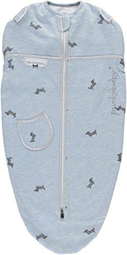 Puckababy® MINI - Pucksack Baby mit Innenweste - 3/6 M | Blue Pucky | Pucksäcke | Swaddle