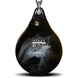 "Aqua Punching Bag 18"" Black/Silver"