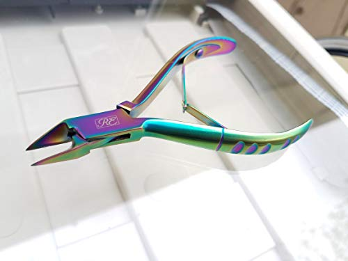 Nagelknipser für Podologen/Zehennägel/Nagelknipser/Nagelknipser/Nagelknipser/Nagelzange/Eingewachsene Zehennägel aus robustem Edelstahl - spezieller rutschfester Griff