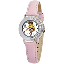 Disney Mädchen-Armbanduhr High School Musical Chad rosa