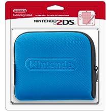 Nintendo 2DS - Tasche (schwarz + blau)