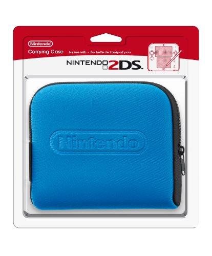 Nintendo 2DS Tasche schwarz-blau (Thomas-modell)