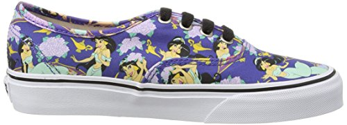 VansU Authentic Disney Sneaker Basse, Uomo Blu (Blue (Disney - Jasmine/Deep Ultramarine))