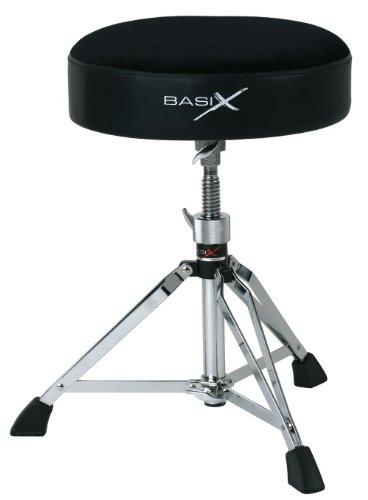 Basix F805160 Sgabello per Batteria Drum Throne Tondo