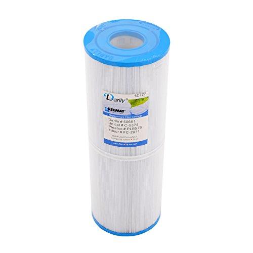 Darlly® Filter Ersatzfilter SC777 Lamellenfilter für Cal Spas Clearwater Spas -
