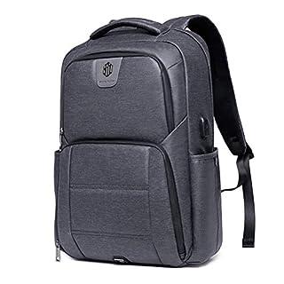 Wasserdicht Laptop Rucksack - Arctic Hunter Notebook Rucksack Herren mit USB Passt Bis zu 15,6 Zoll Laptops für Reise, Schule, Business, Arbeit