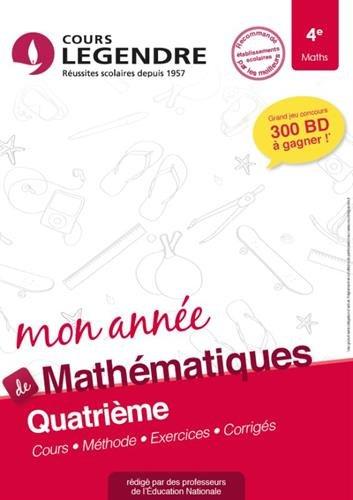 Mathématiques 4e Cahier de Vacances 4ème