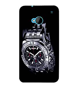 printtech Cool Watch Back Case Cover for HTC One M7::HTC M7