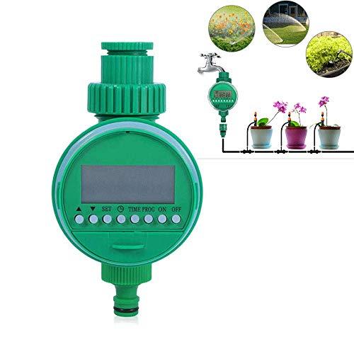 Vuffuw automatische bewässerung Timer, 16 programmierbare batteriebetriebene LCD Display Schlauch Wasserhahn Timer, Single Outlet elektrische Wasser Schlauch Timer für Garten gewächshausbewässerung