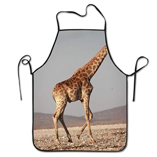 Rasyko Giraffe Walk-Afrika-Schürze zum Kochen, Backen, Basteln, Gartenarbeit und Grillen (Bärte Zum Verkauf)