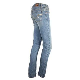 New American Eagle Womens Jeans Light Wash Denim Pant Skinny Fit Plus Sizes 16 UK