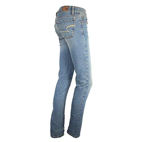 New American Eagle Womens Jeans Light Wash Denim Pant Skinny Fit Plus Sizes
