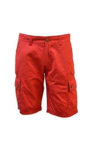 Hattric Herren Shorts Koral Rot